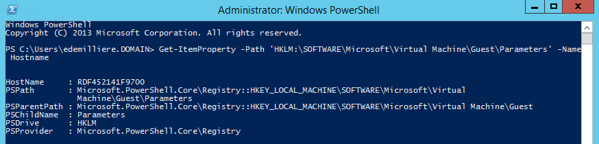 HyperV-Host-Name-From-VM