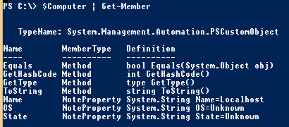 PowerShell-Object-DefaultType