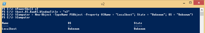 PowerShell-Object-v2