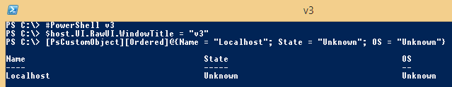 PowerShell-Object-v3