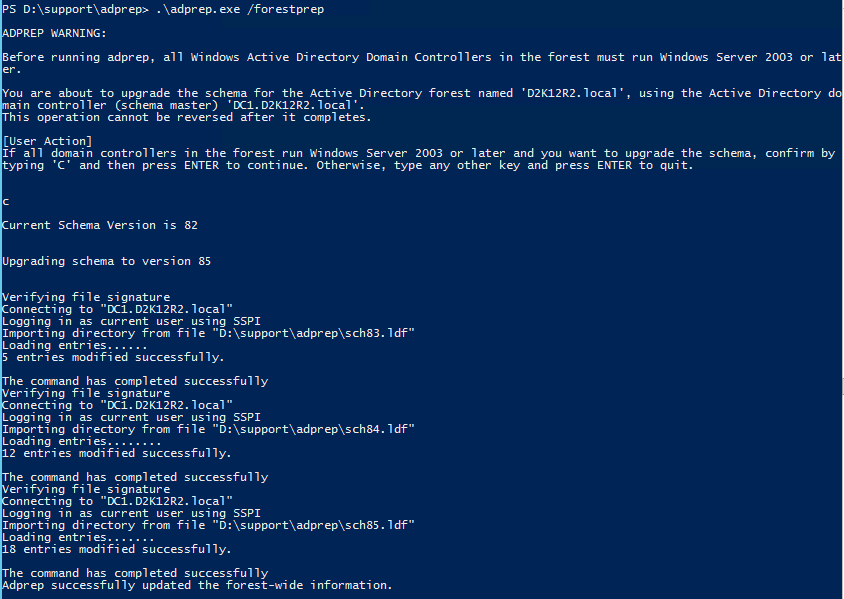 Windows Server TP4 New Active Directory Schema Attributes
