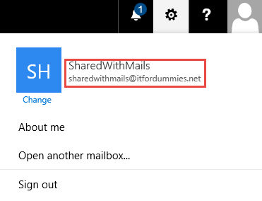 Enable Out of Office Shared Mailbox - Shared Mailbox Picture