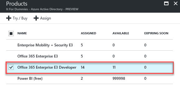 Manage Office 365 Licenses AD Group - Verify Licenses Groups