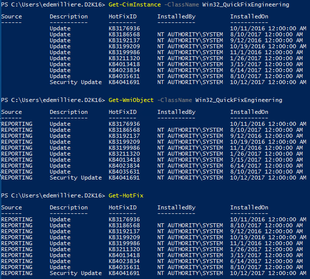 WSUS Windows Update Compliance PowerShell - IT for Dummies
