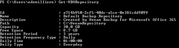 Backup Export Office 365 Exchange Online Mailbox - Veeam Repository & PowerShell