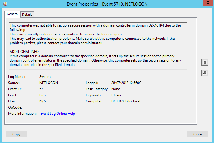 Get EventLog Event Details Content PowerShell - Event Overview