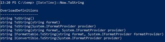 Get-Date Multi Language PowerShell - ToString Overloads